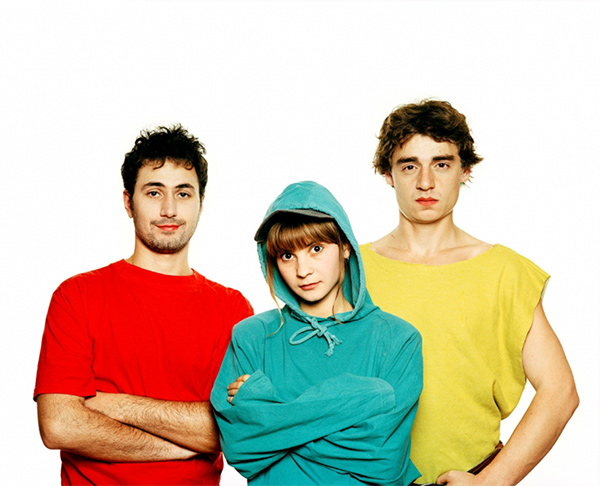 Стефан, Камен и Мая. Фотография: Мисирков / Богданов